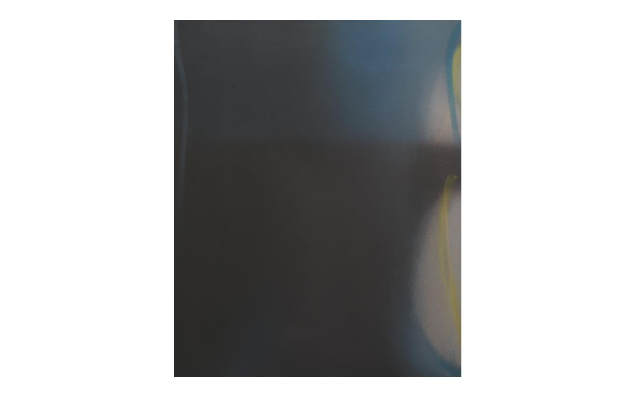 Cromie Blu Verdi, 1971, olio su tela cm 100x80