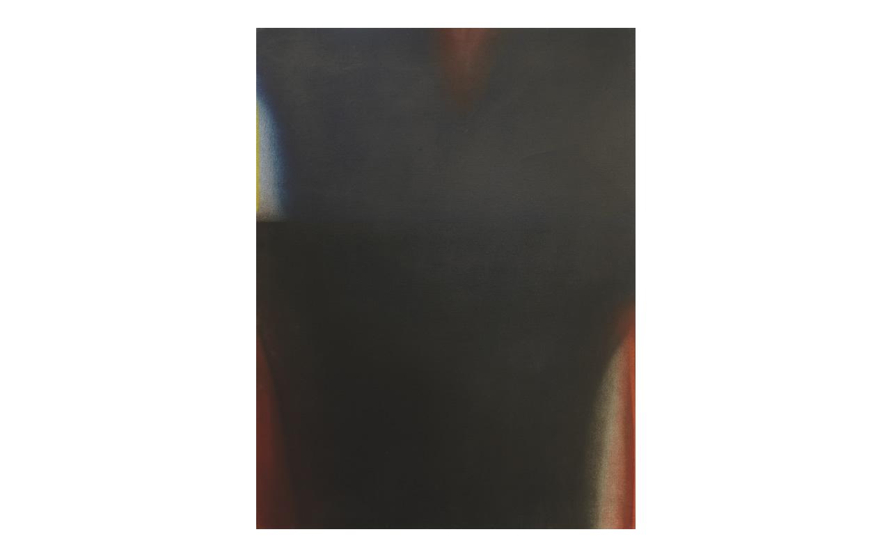 Nero Blu, 1972, olio su tela cm 160x120