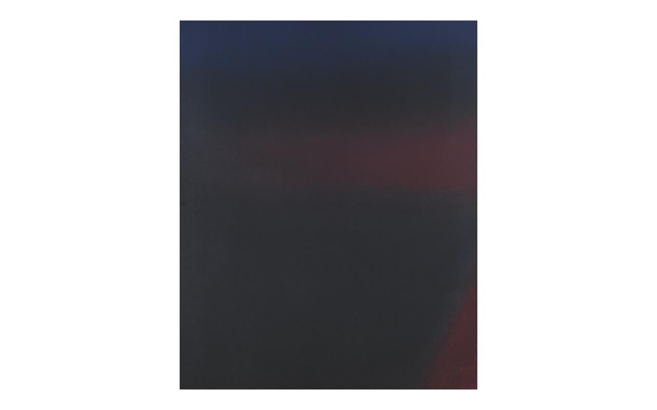 Senza titolo, 1974, olio su tela cm 100x80