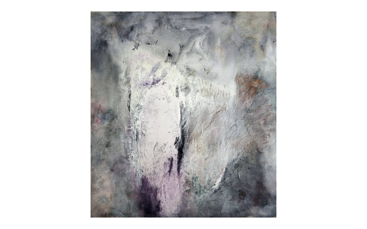 Segno su segno, 2004, tempera acrilica su tela, cm 200 x 180, Arch D4_29