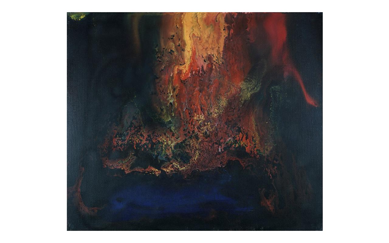 25 maggio 2006, della serie L'immagine accolta, olio su tela, cm 59 x 69, Arch D6_41