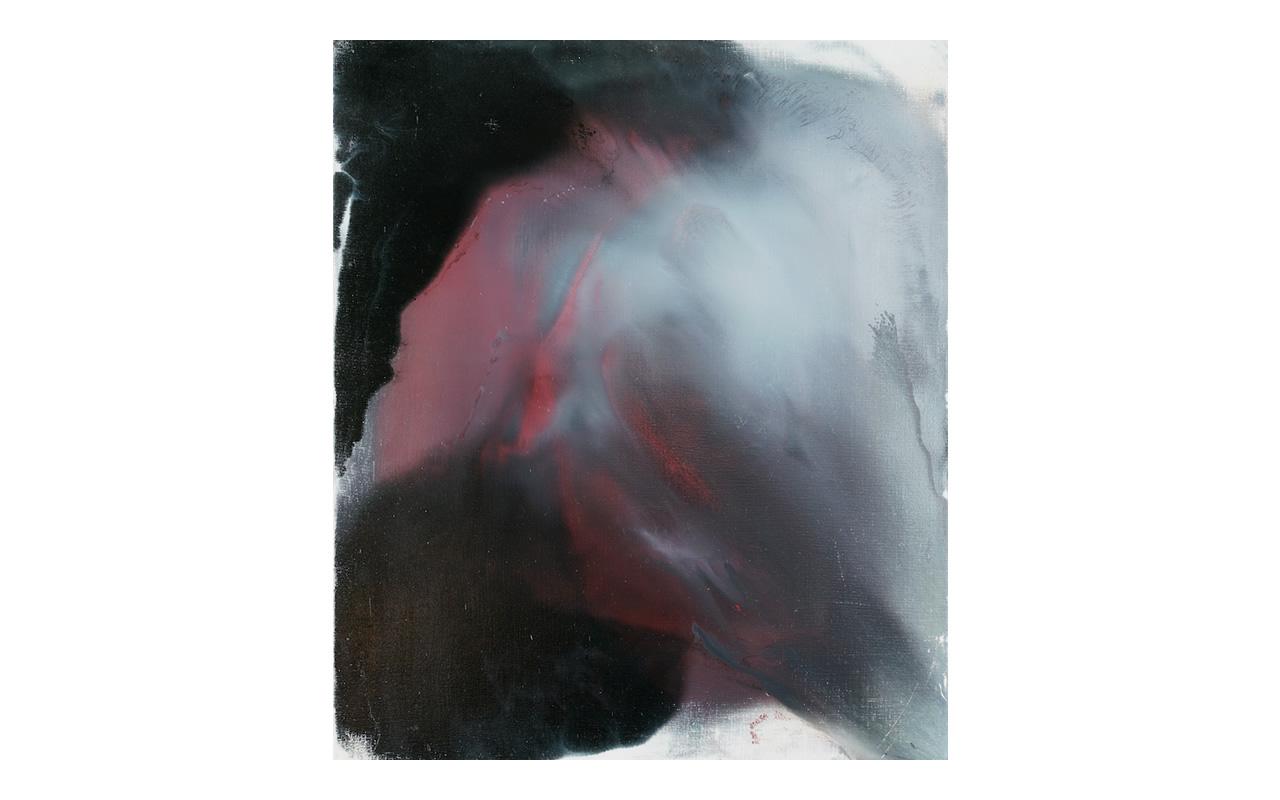 27 aprile 2006, della serie L'immagine accolta, olio su tela, cm 69 x 59, Arch D6_36