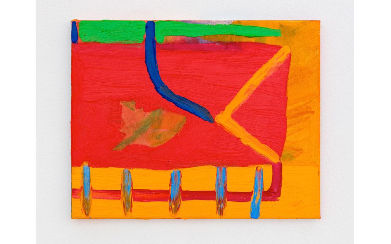 CARTA DA ABISSÍNIA, 2019, Olio su tela, 24 x 30 cm