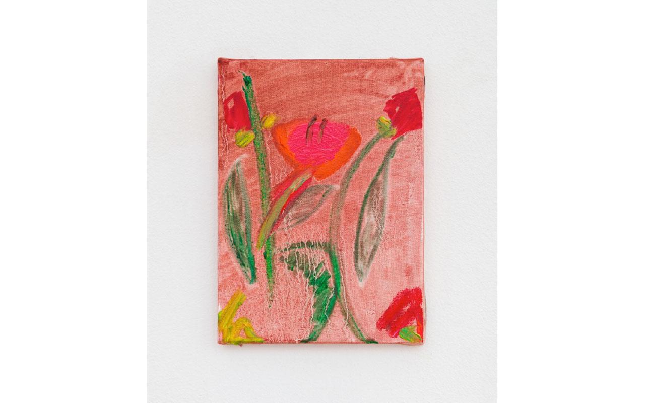 PAPOULA, 2019, Olio su tela, 22 x 16 cm