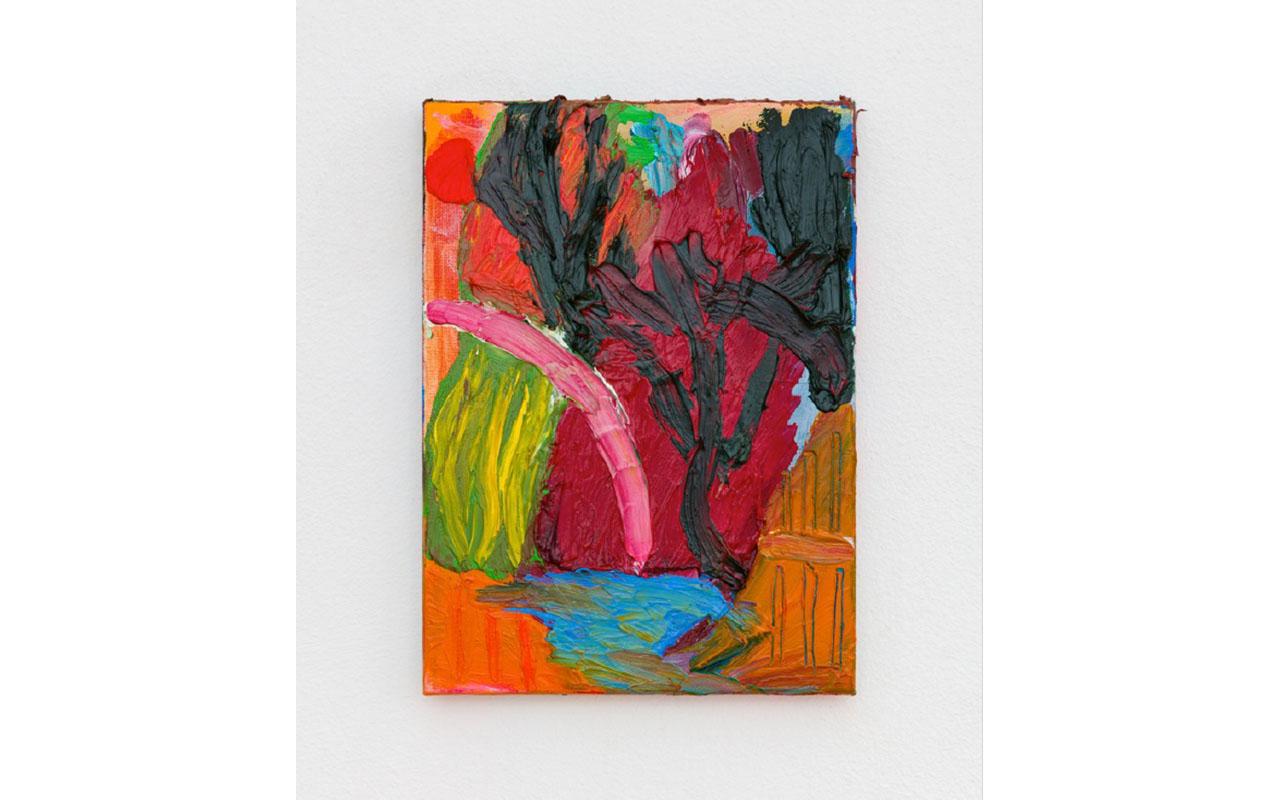ROCHE, 2019, Olio su tela, 22 x 16 cm